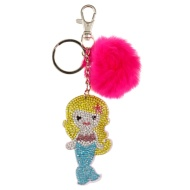 Sequin Keyring - Mermaid