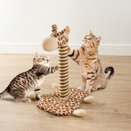 Novelty Cat Scratcher - Giraffe
