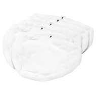 Addis Steam Mop Microfibre Pads 5pk