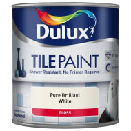 Dulux Tile Paint 600ml - Pure Brilliant White