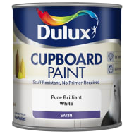 Dulux Cupboard Paint 600ml - Pure Brilliant White