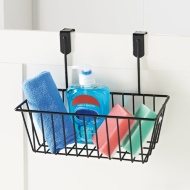 Addis Overdoor Storage Basket - Black