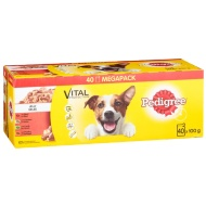 Pedigree Jelly Pouches Mega Pack 40pk