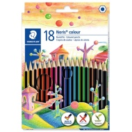 Staedtler Noris Coloured Pencils 18pk