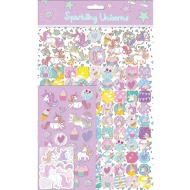 Sparkling Unicorn Stickers