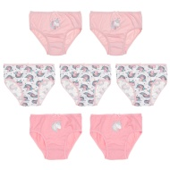Younger Girls Unicorn Briefs 7pk (Age 3-8)
