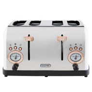 Blaupunkt Retro 4 Slice Toaster - White