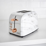 Blaupunkt Marble Effect 2 Slice Toaster