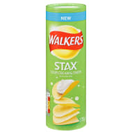 Walkers Stax Sour Cream & Onion 170g