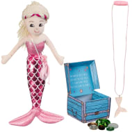 Plush Mermaid Gift Set - Pink