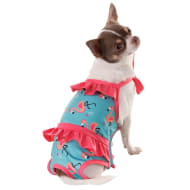 Summer Dog Swimsuits - Flamingo