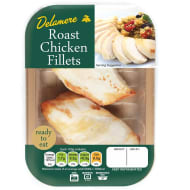 Delamere Roast Chicken Fillets 190g