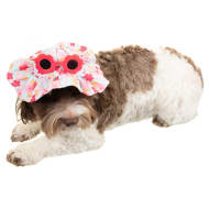 Dogs Summer Hat - Floral
