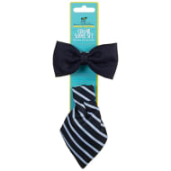 Pooch Couture Collar Slider Set - Navy Bow Tie