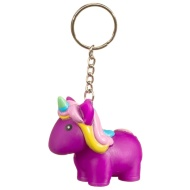 Unicorn Keyring - Purple