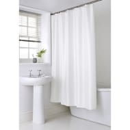 Shimmer Shower Curtain - White