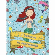 I Believe Colouring Book - Mermaids