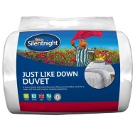Silentnight Just Like Down 13.5 Tog Duvet - Double
