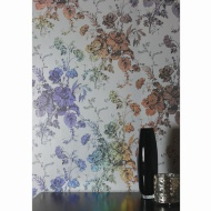 Bijoux Fleurette Wallpaper - Grey