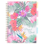 A4 Project Notebook - Floral