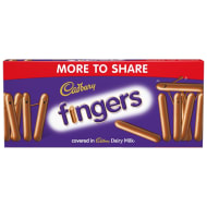 Cadbury Chocolate Fingers 138g