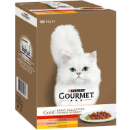 Purina Gourmet Gold Gravy Collection 12 x 85g