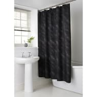 Sparkle Shower Curtain - Black