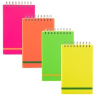 Neon Shorthand Notebook