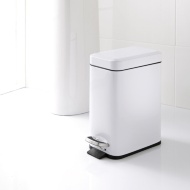 Addis Rectangular Bin 5L - White