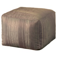 Radiance Metallic Beanbag Cube - Gold