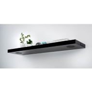 Skye High Gloss Bluetooth Shelf - Black