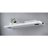 Skye High Gloss Bluetooth Shelf - White