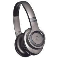 Goodmans Studio Bass Wireless Headphones - Grey
