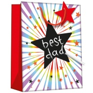 Chalkboard Gift Bag - Star