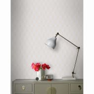 Myrtle Geo Wallpaper - Grey