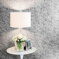 Lipsy Sequins Wallpaper - Silver