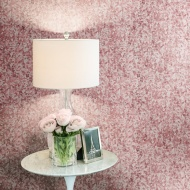 Lipsy Sequins Wallpaper - Pink