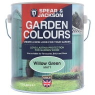 Spear & Jackson Garden Colours 2.5L - Willow Green
