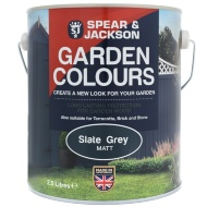 Spear & Jackson Garden Colours 2.5L - Slate Grey