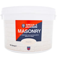 Spear & Jackson Masonry Paint Smooth 10L - Magnolia