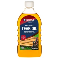 Spear & Jackson Teak Oil 500ml