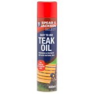 Spear & Jackson Teak Oil Aerosol 600ml