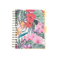 A5 Project Notebook - Floral