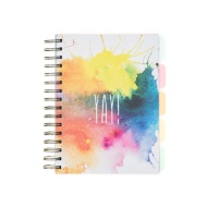 A5 Project Notebook - Paint Splat