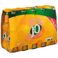J2O Orange & Passion Fruit 10 x 275ml