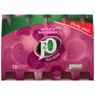 J2O Apple & Raspberry Juice Drink 10 x 275ml
