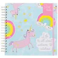 Photo Scrapbook - Unicorns & Rainbows