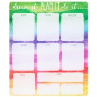 Weekly Planner Pad - Dream it Plan it Do it