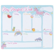 Weekly Planner Pad - My Magical Week
