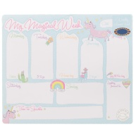 Weekly Planner Pad - Unicorns & Rainbows